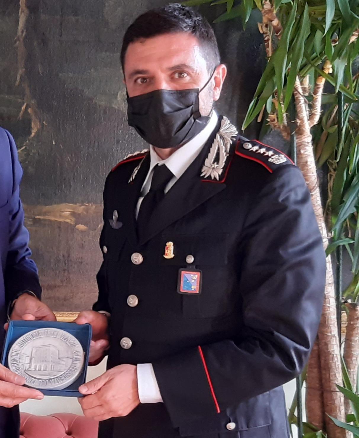 Carabinieri: Presidenza Cr saluta nuovo comandante di Trieste